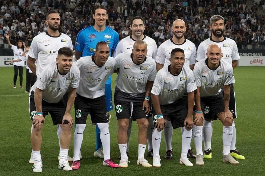 Sheik se despede com Itaquerão lotado e campeões da Libertadores