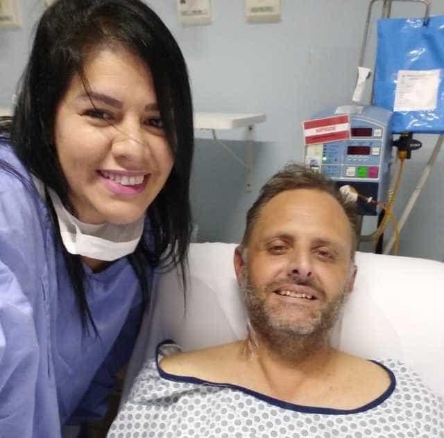 12 anos separados, homem recebe rim da ex-mulher: 'Agora somos irmãos'