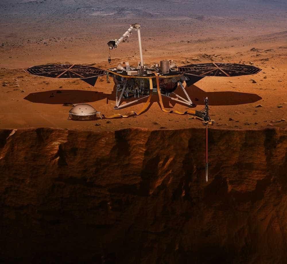 Sonda da Nasa faz a primeira selfie em Marte