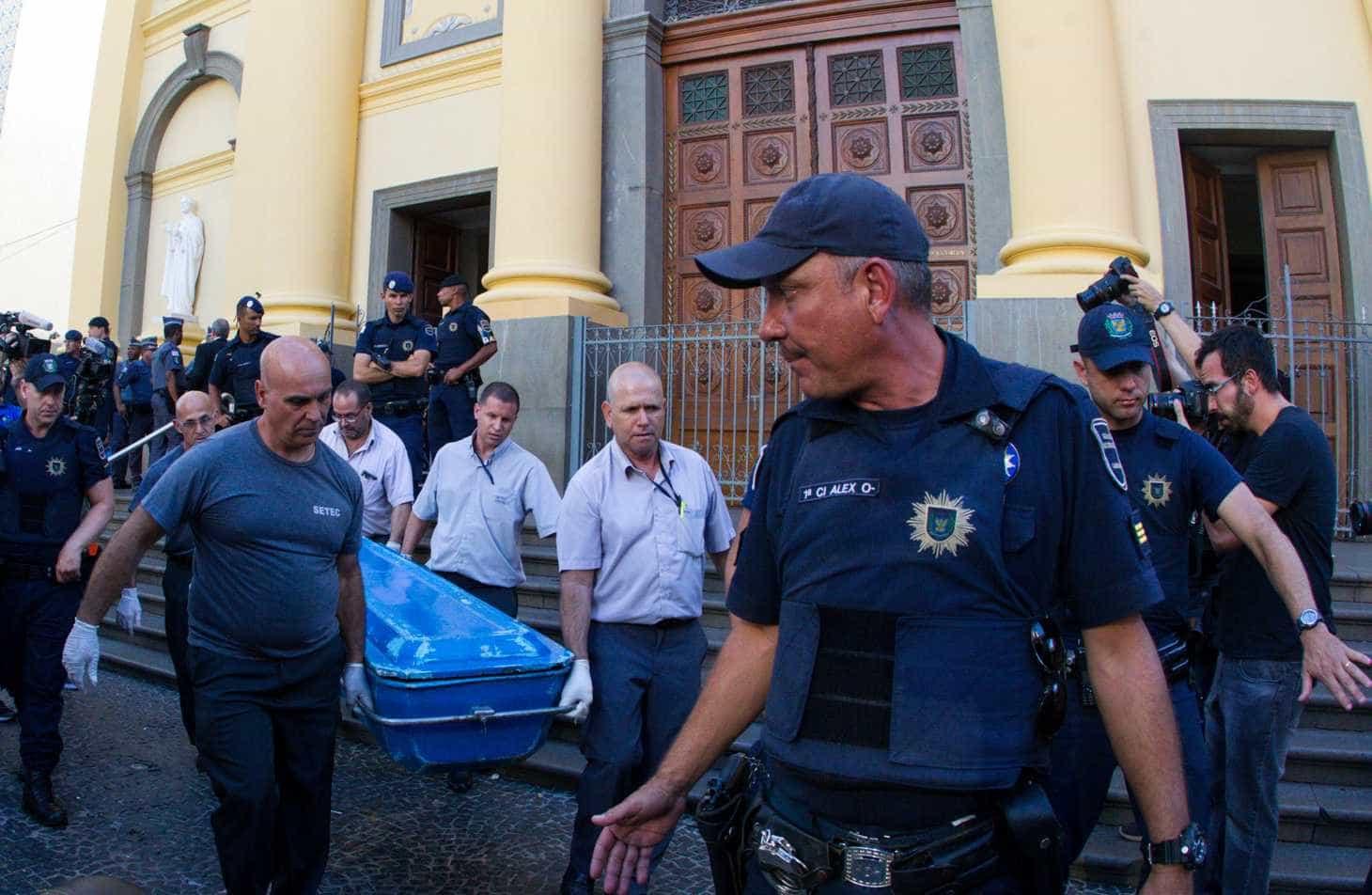 Atirador de Campinas mencionou massacres em diário