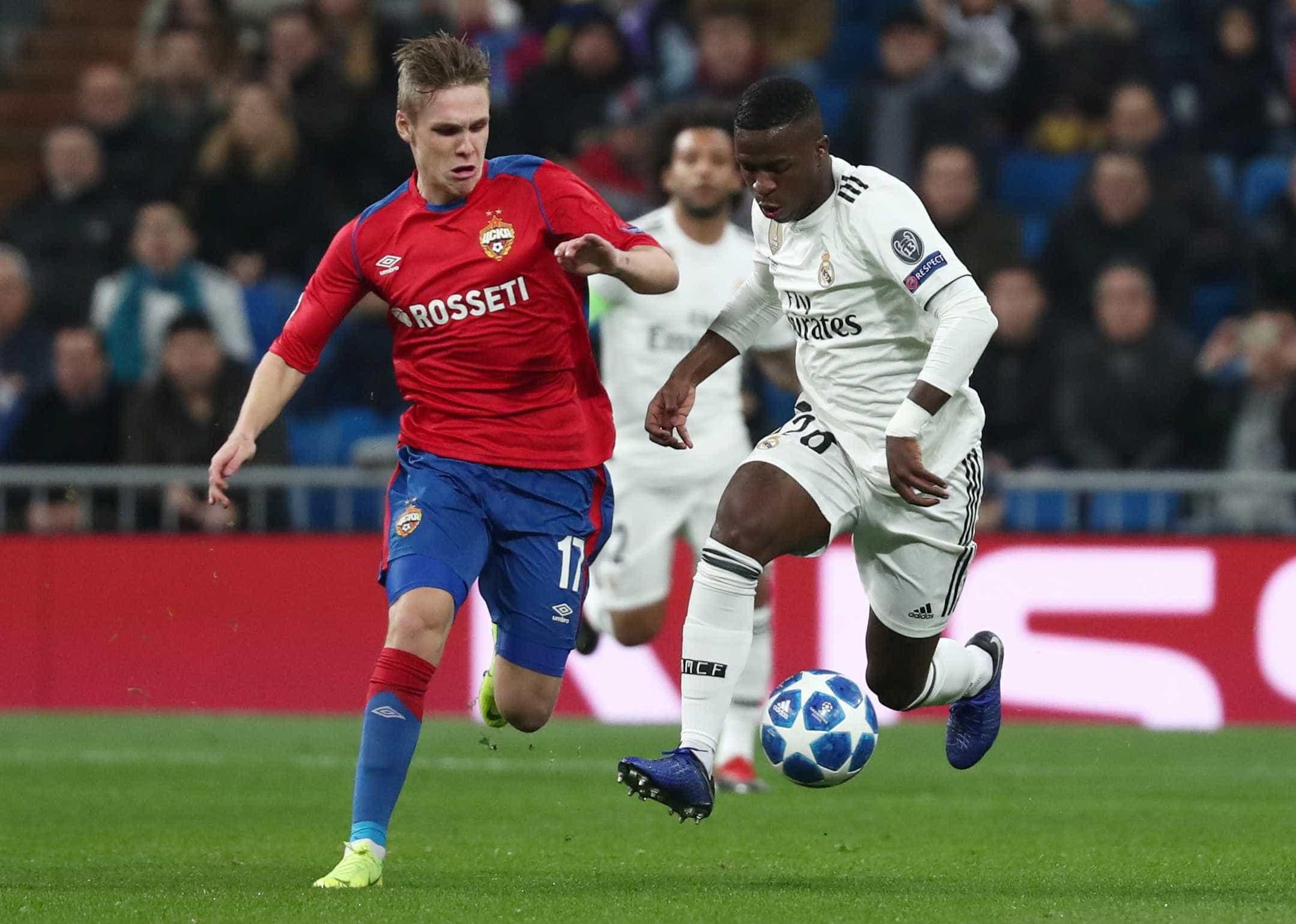 Real Madrid passa vergonha diante do CSKA no Santiago Bernabéu