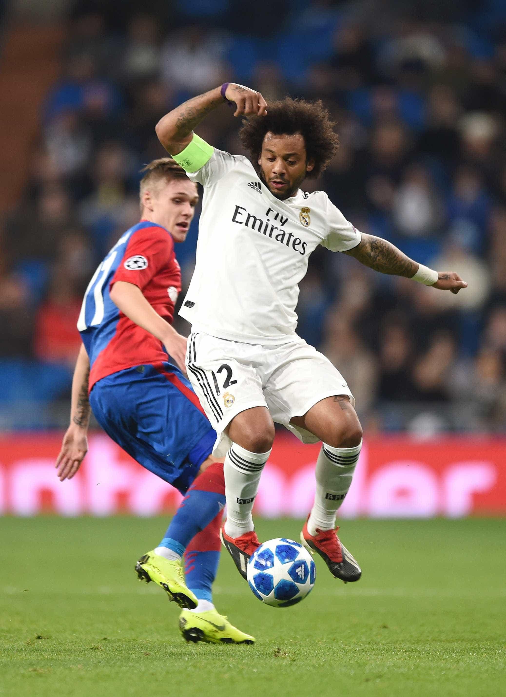 Marcelo descarta jogar com Cristiano Ronaldo na Juventus