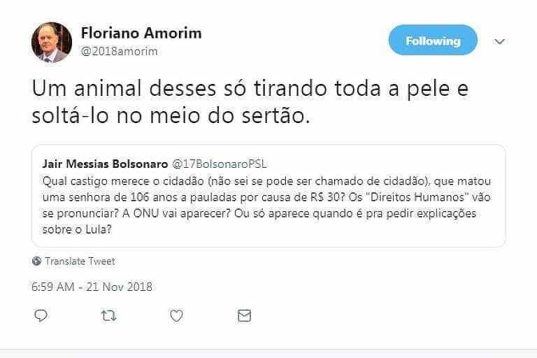 Futuro chefe da Secom de Bolsonaro prega violência e ataca imprensa