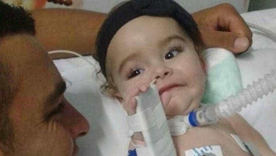 Família tenta arrecadar R$ 2,2 milhões para salvar bebê com doença rara