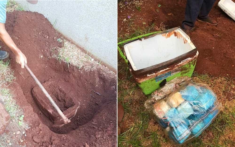 Ex-vereador preso em SP tinha R$ 1,5 milhão enterrado em quintal