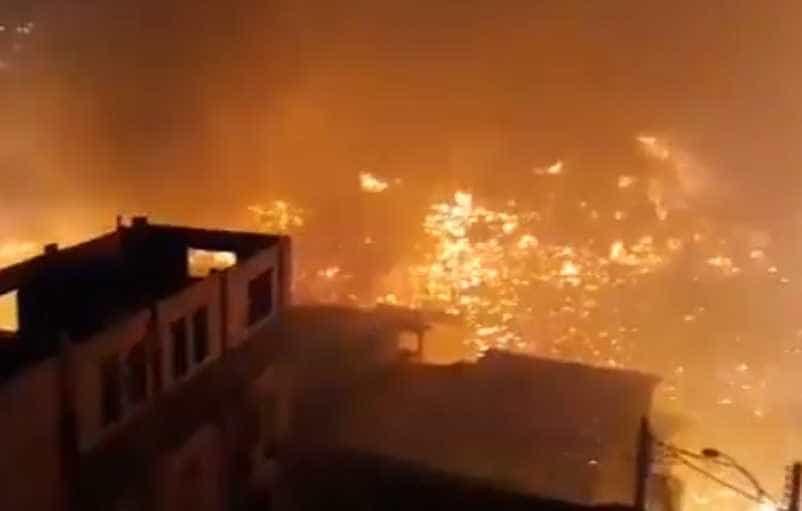 Grávida está entre as vítimas socorridas após incêndio em Manaus
