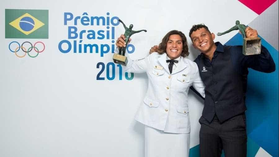 Ana Marcela e Isaquias Queiroz são eleitos melhores atletas de 2018