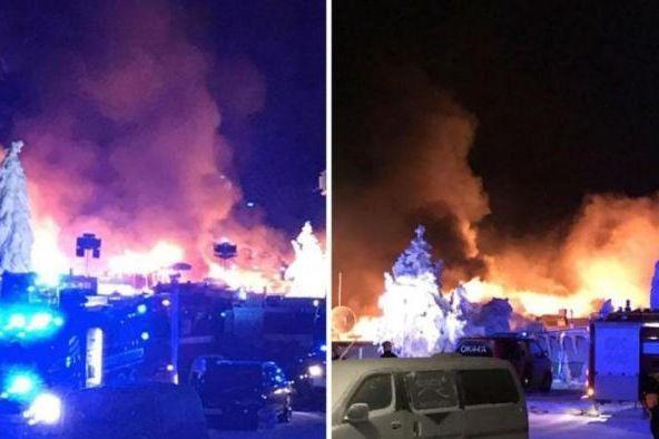 Incêndio em hotel provoca pânico em hóspedes na Finlândia