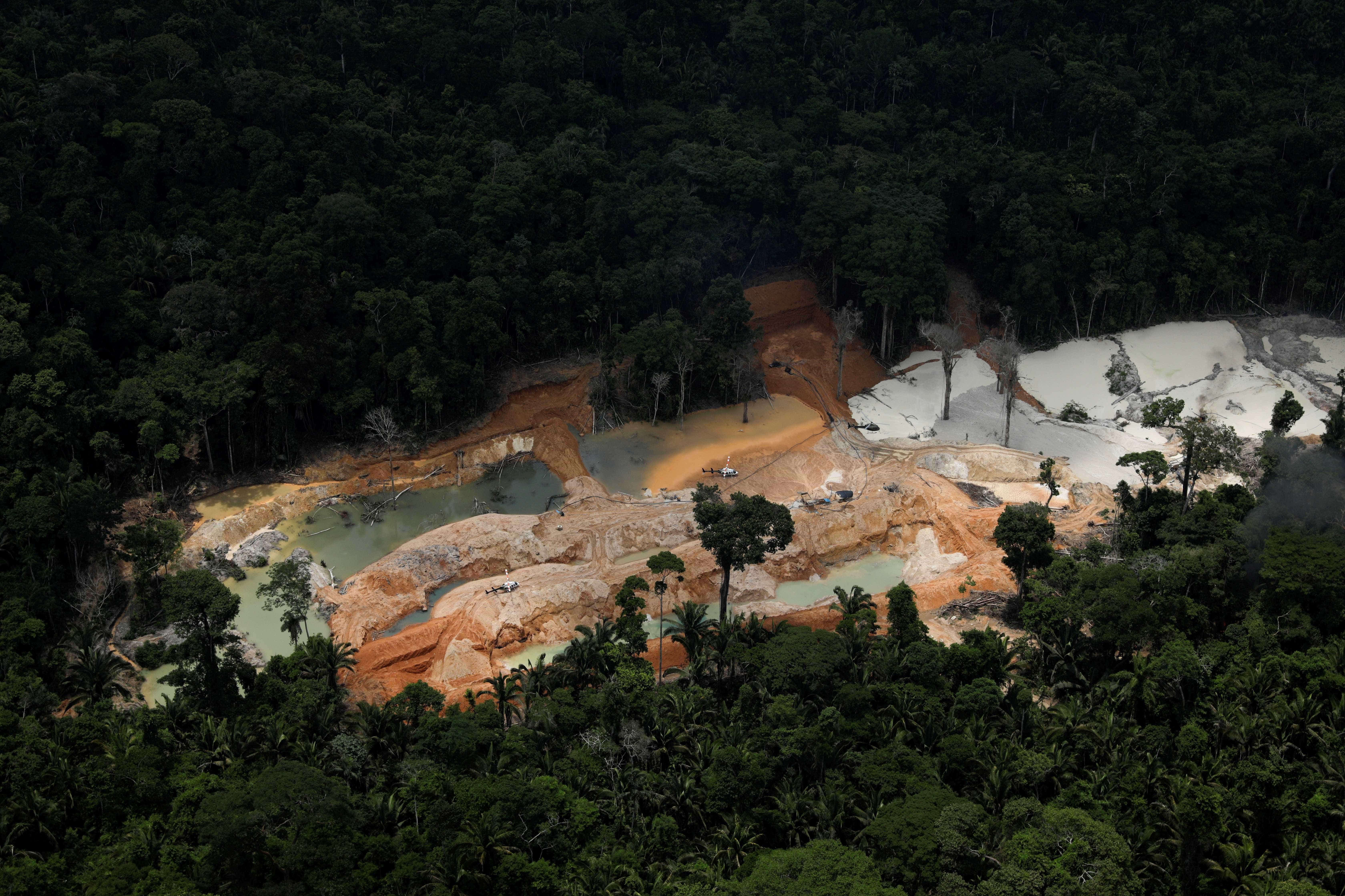 Mineradoras querem 25% de terras indígenas na Amazônia Legal
