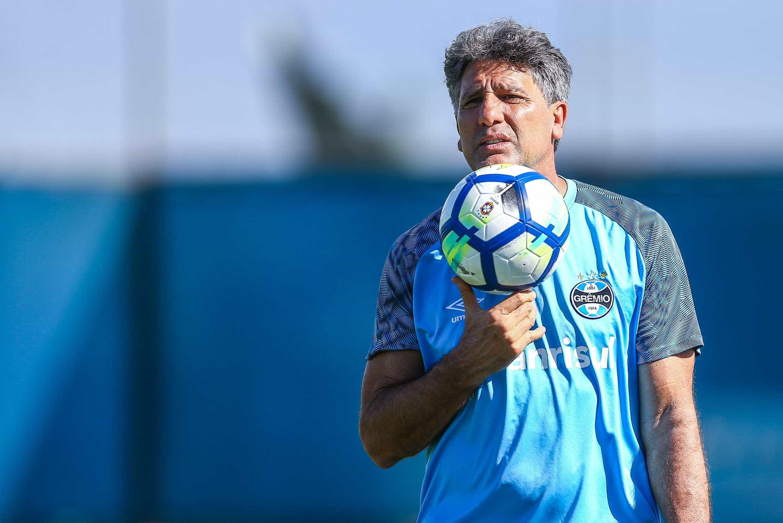 Renato valoriza 'grupo campeão' para estreia do Grêmio na Liberta