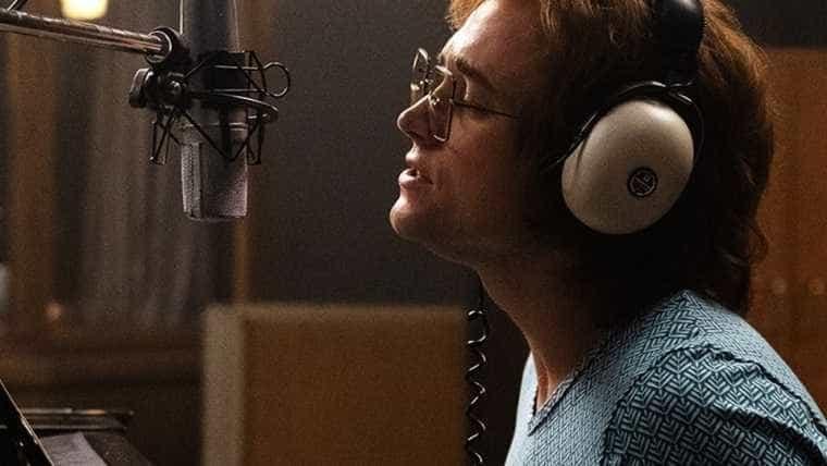 Filme que conta a história de Elton John divulga nova imagem