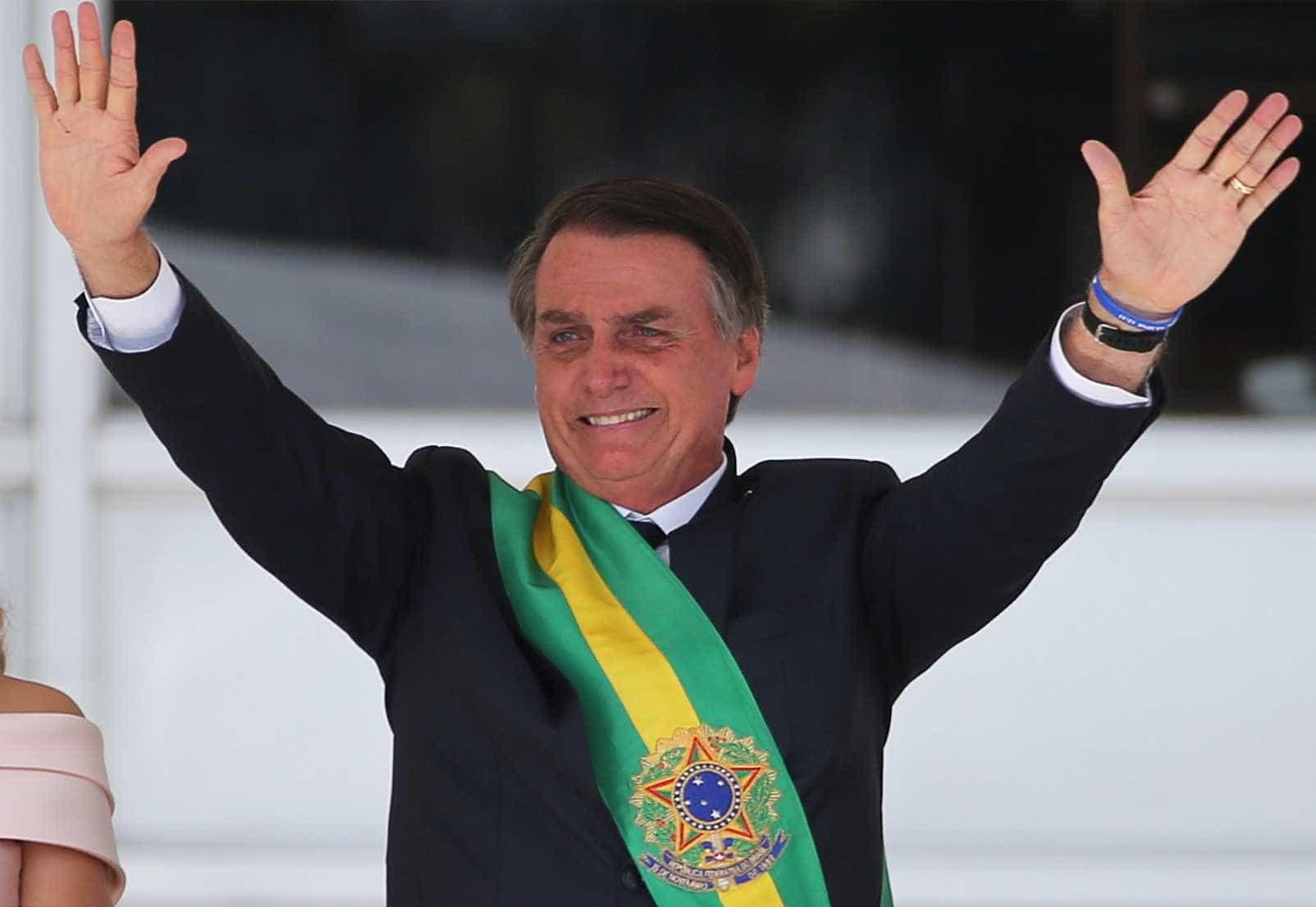 Veja imagens dos principais momentos da posse de Jair Bolsonaro