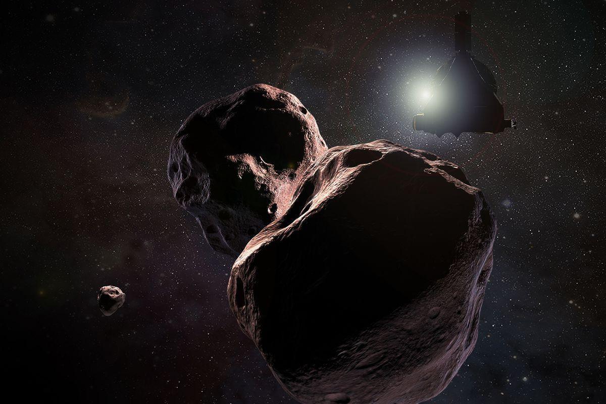 Novas imagens de rochedo captado pela New Horizons aumentam mistério