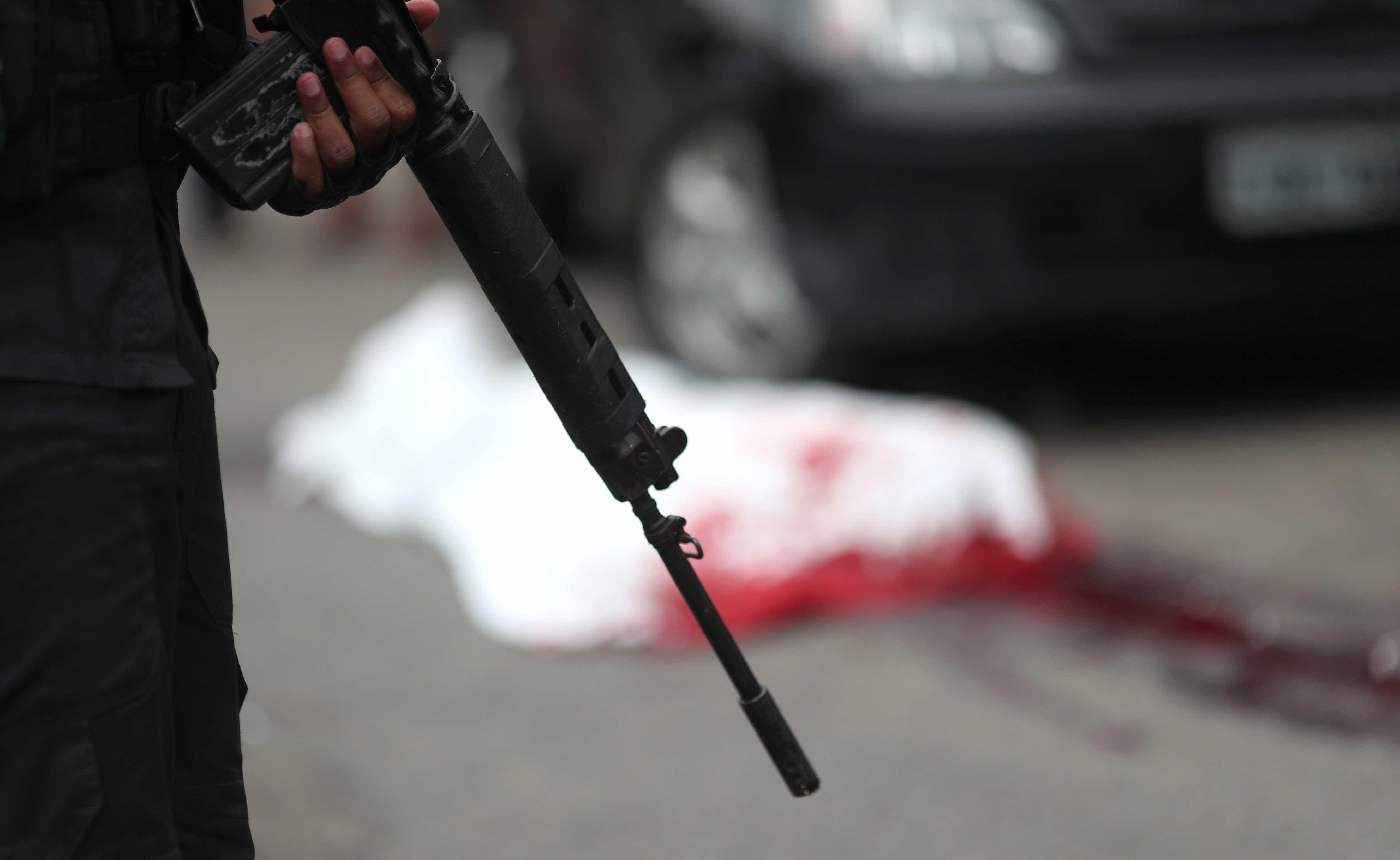 Rio: mortes violentas crescem 26% de dezembro para janeiro