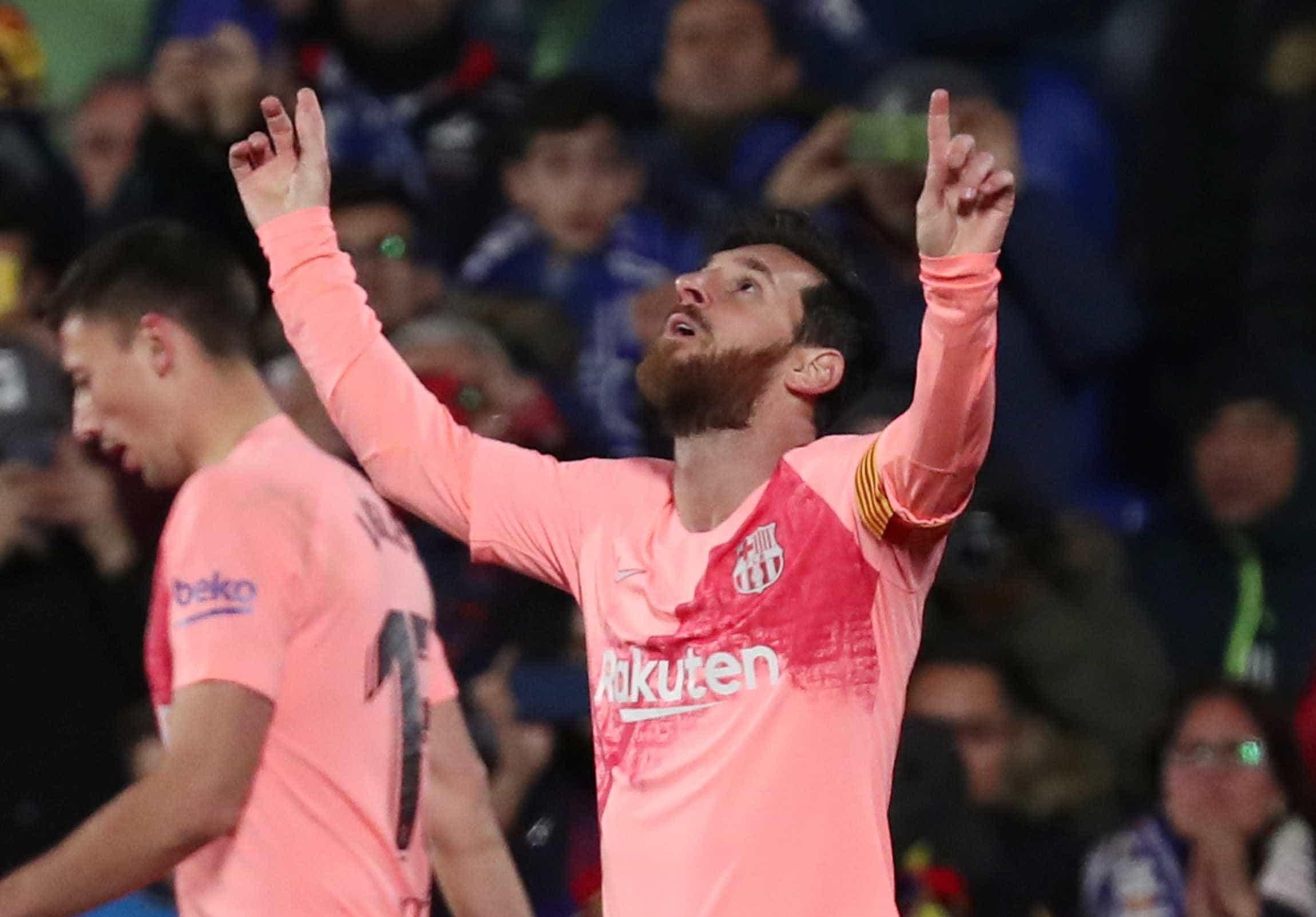 Com 399º gol de Messi no Espanhol, Barcelona vence