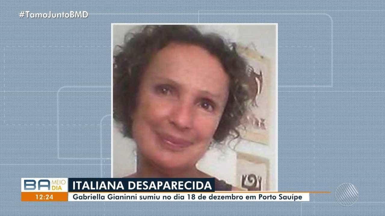 Italiana está desaparecida há mais de 20 dias no Brasil
