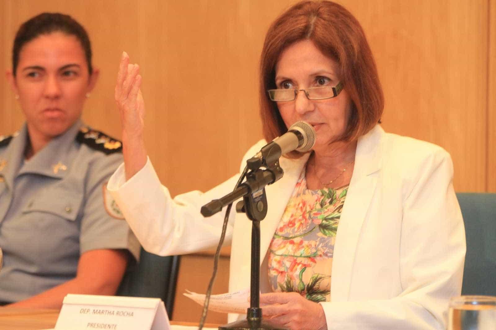 Deputada Martha Rocha já havia sofrido ameaças de morte