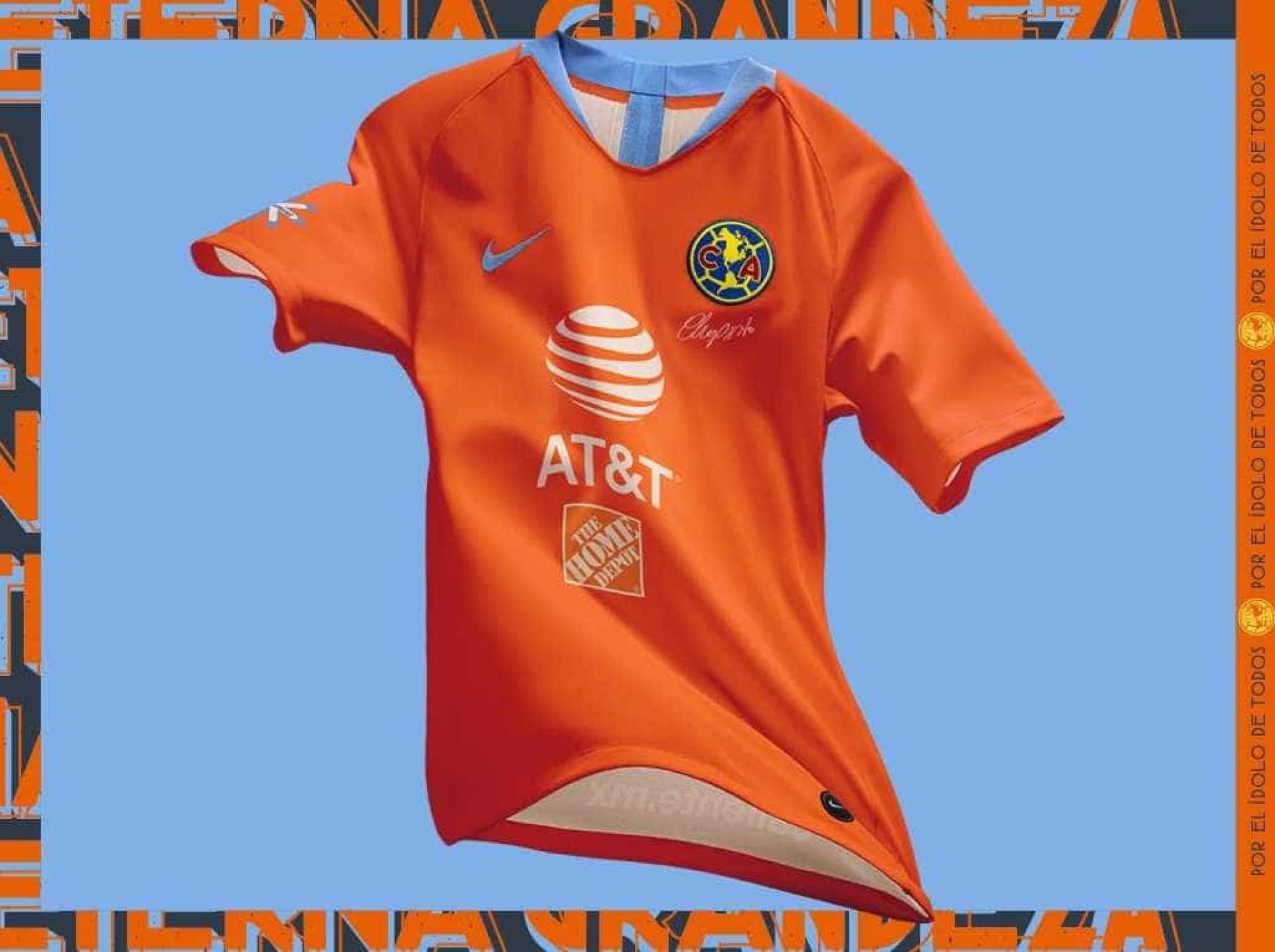 Criador do seriado Chaves é homenageado em novo uniforme do América b315483bde904