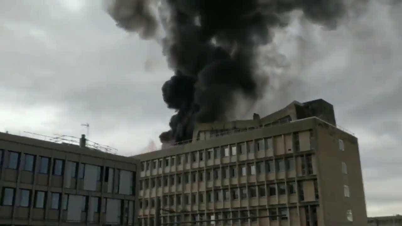 Enorme explosão é registrada em universidade de Lyon; vídeo