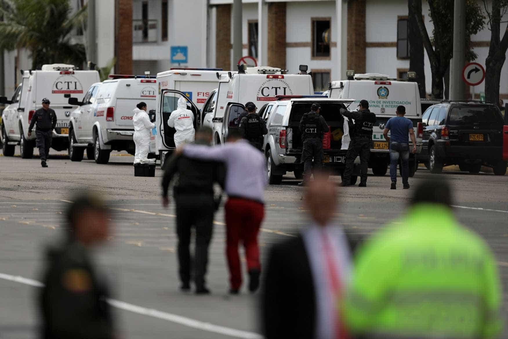 ELN assume atentado com carro-bomba em Bogotá