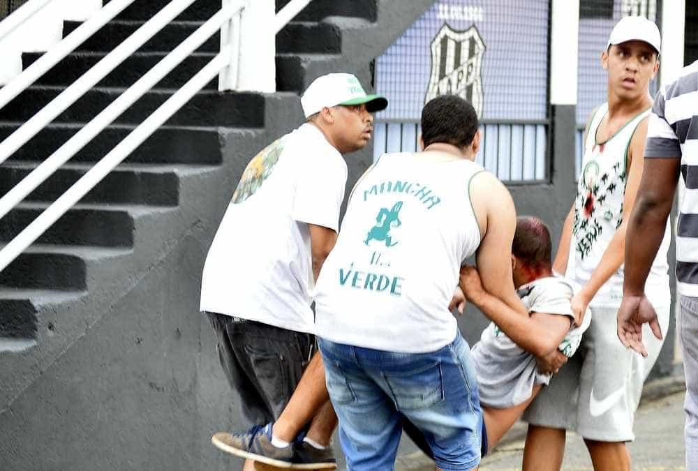 Confronto entre torcedores deixa 3 feridos antes do jogo do Palmeiras