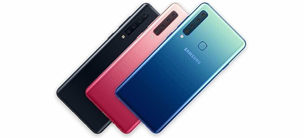 Samsung apresenta smartphone com 4 câmeras traseiras no Brasil