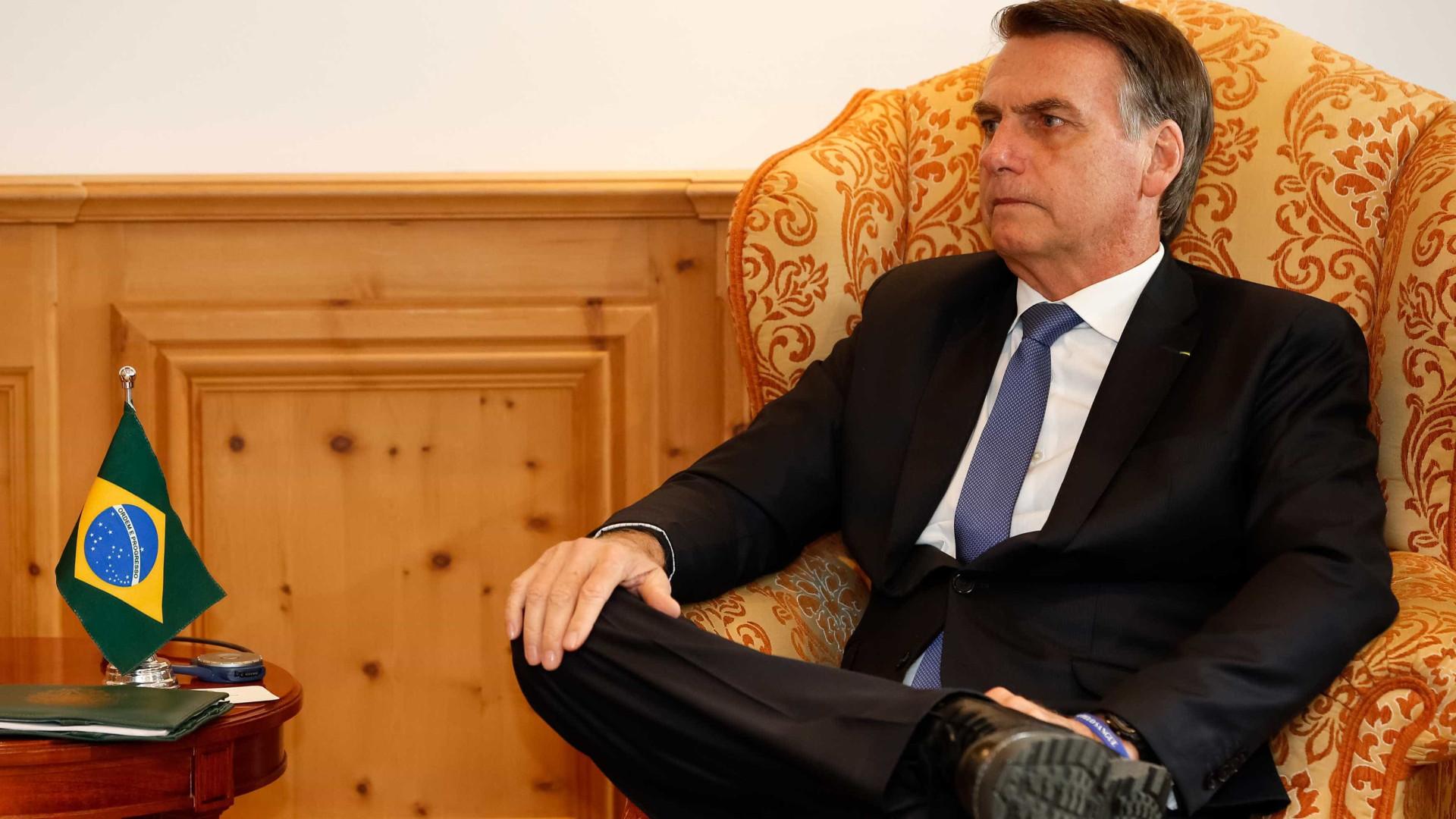 'Estamos determinados a mudar os rumos do país', diz Bolsonaro