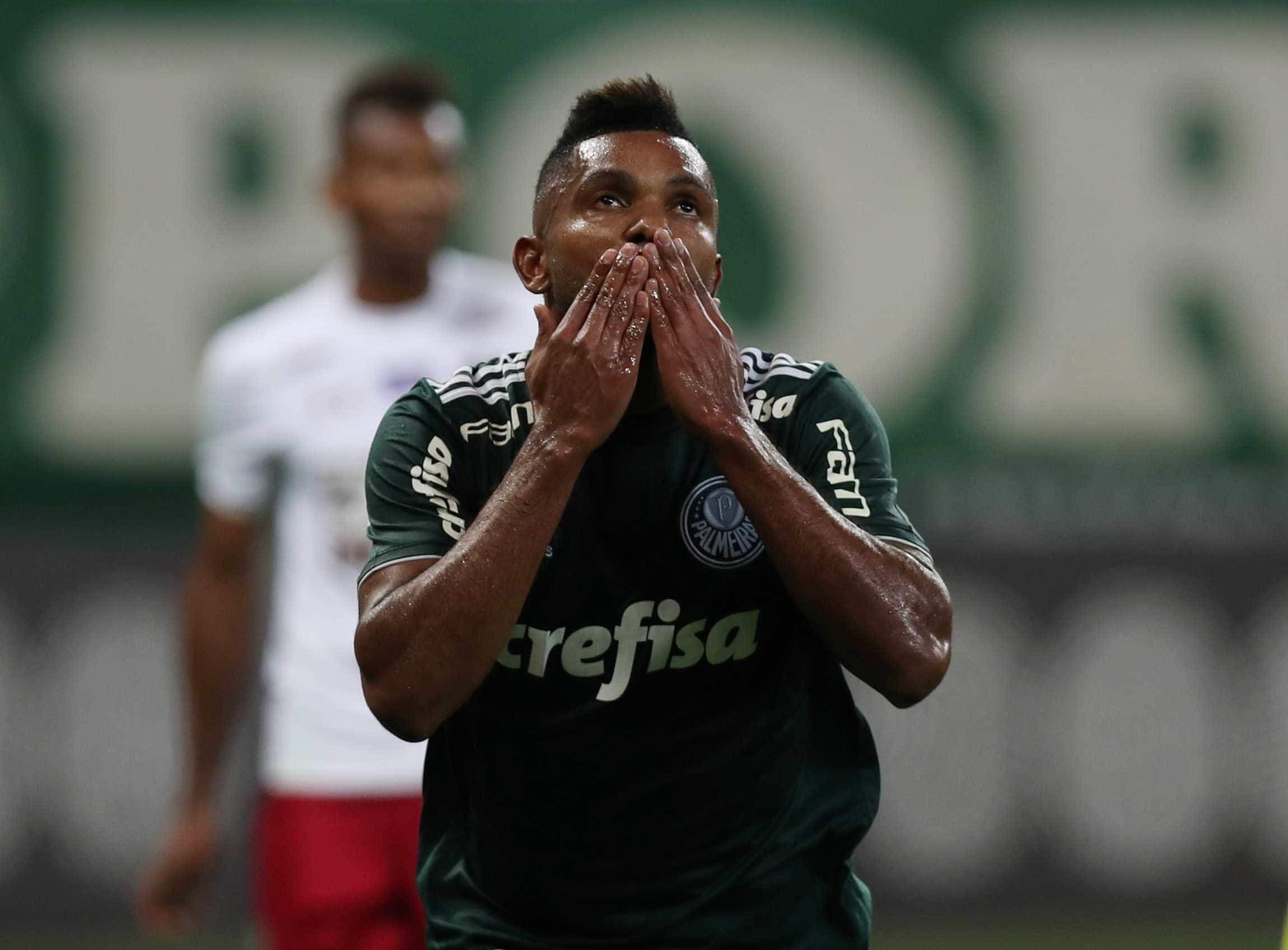 Após dois jogos na reserva, Borja marca e Palmeiras embala no Paulista