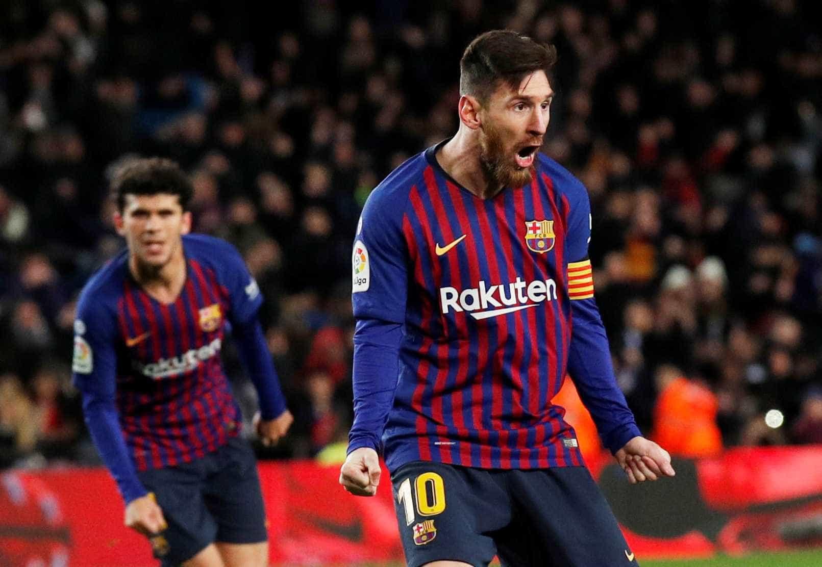 Messi comanda reação do Barça em empate com o Valencia no Camp Nou