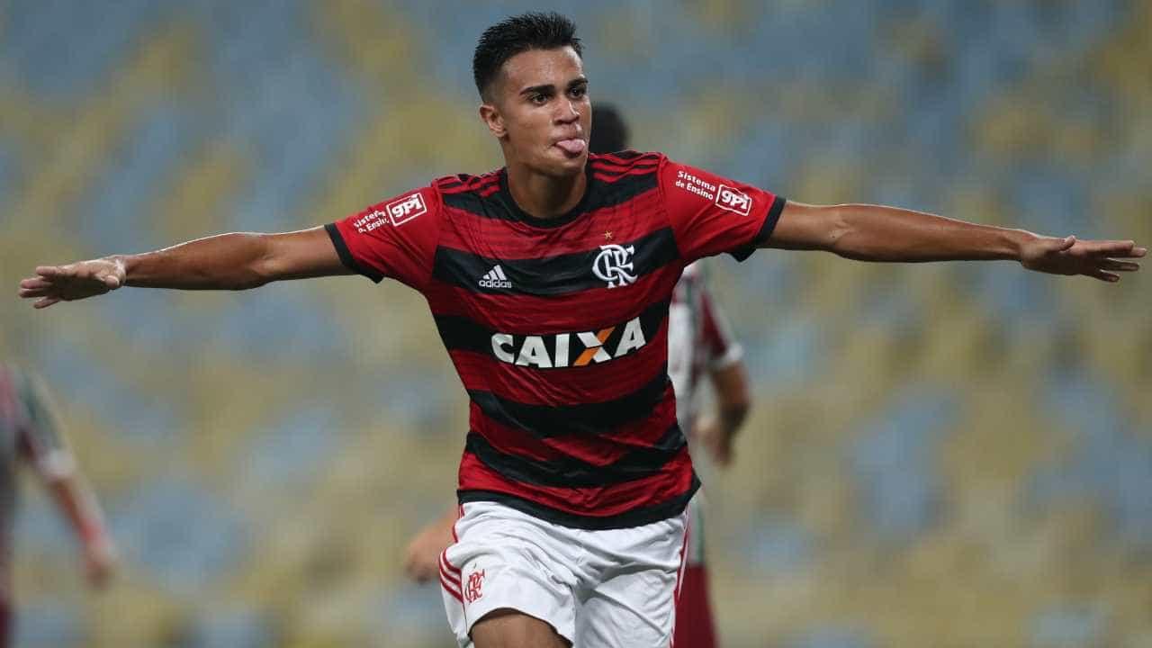 Joia da base do Flamengo entra na mira de Real Madrid e Juventus