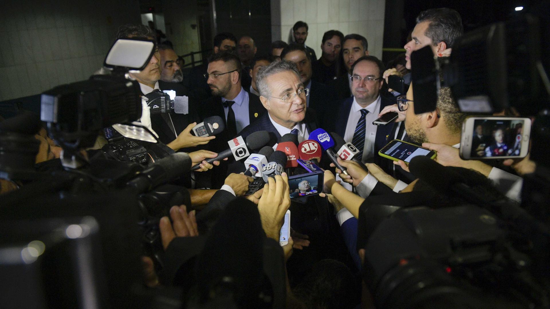 Alcolumbre veta Renan e mais quatro para Mesa Diretora do Senado