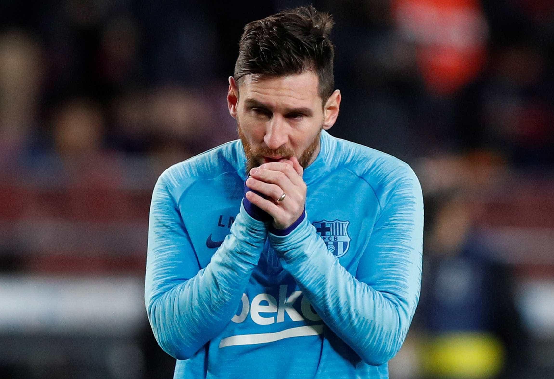 Messi treina e deve reforçar o Barcelona no clássico diante do Real