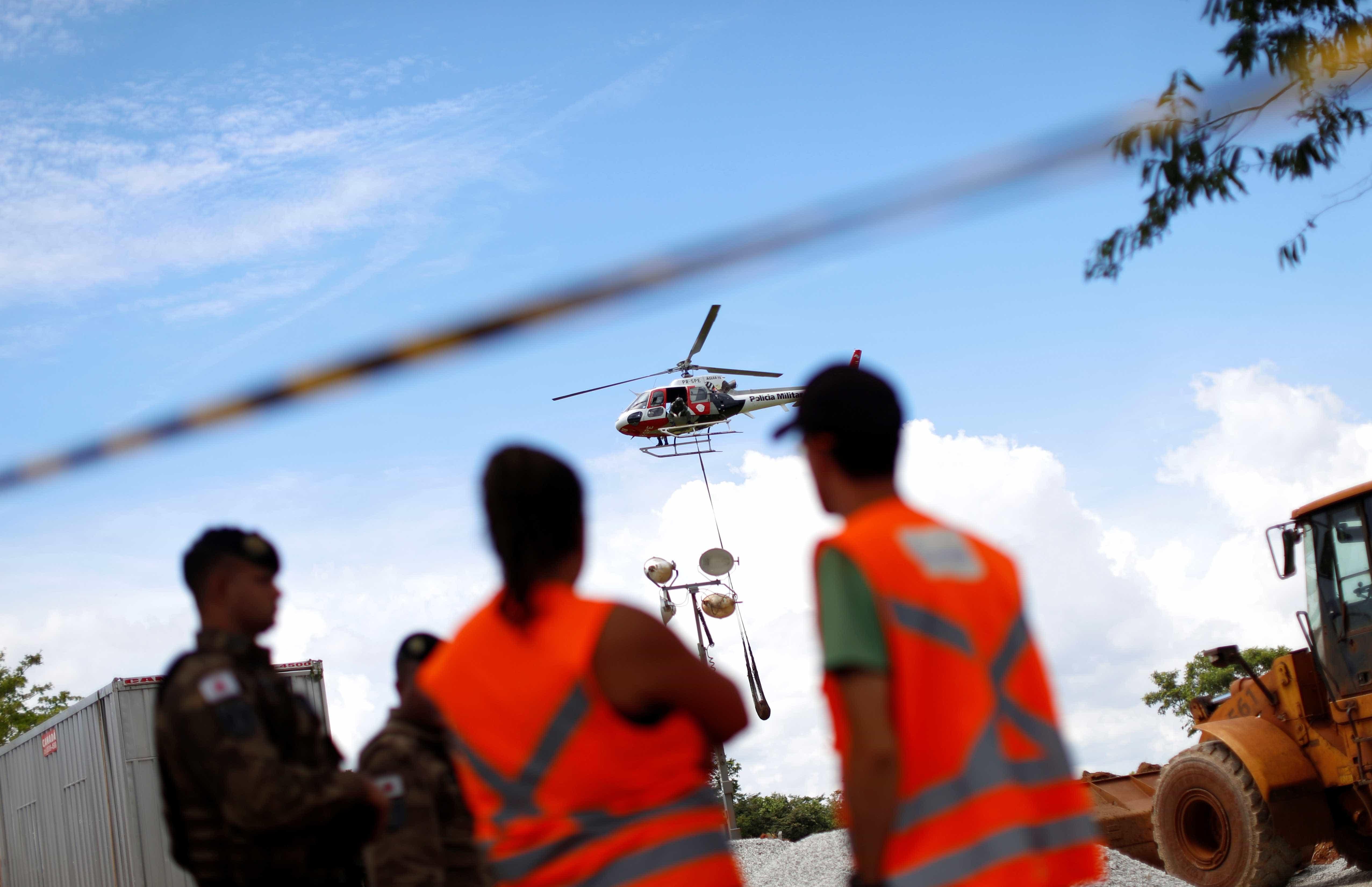 Cinco pessoas consideradas desaparecidas são localizadas em Brumadinho