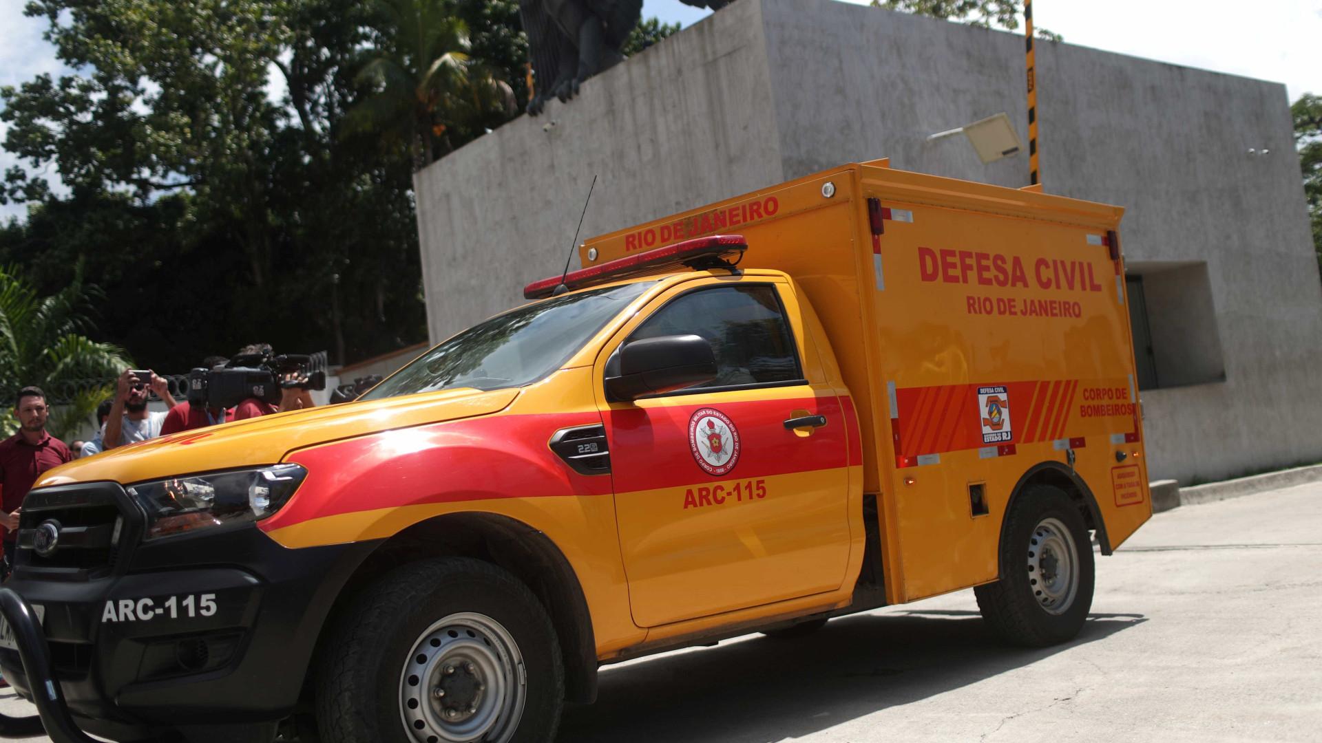 Vítima do incêndio no Fla apresenta melhora, mas segue no CTI