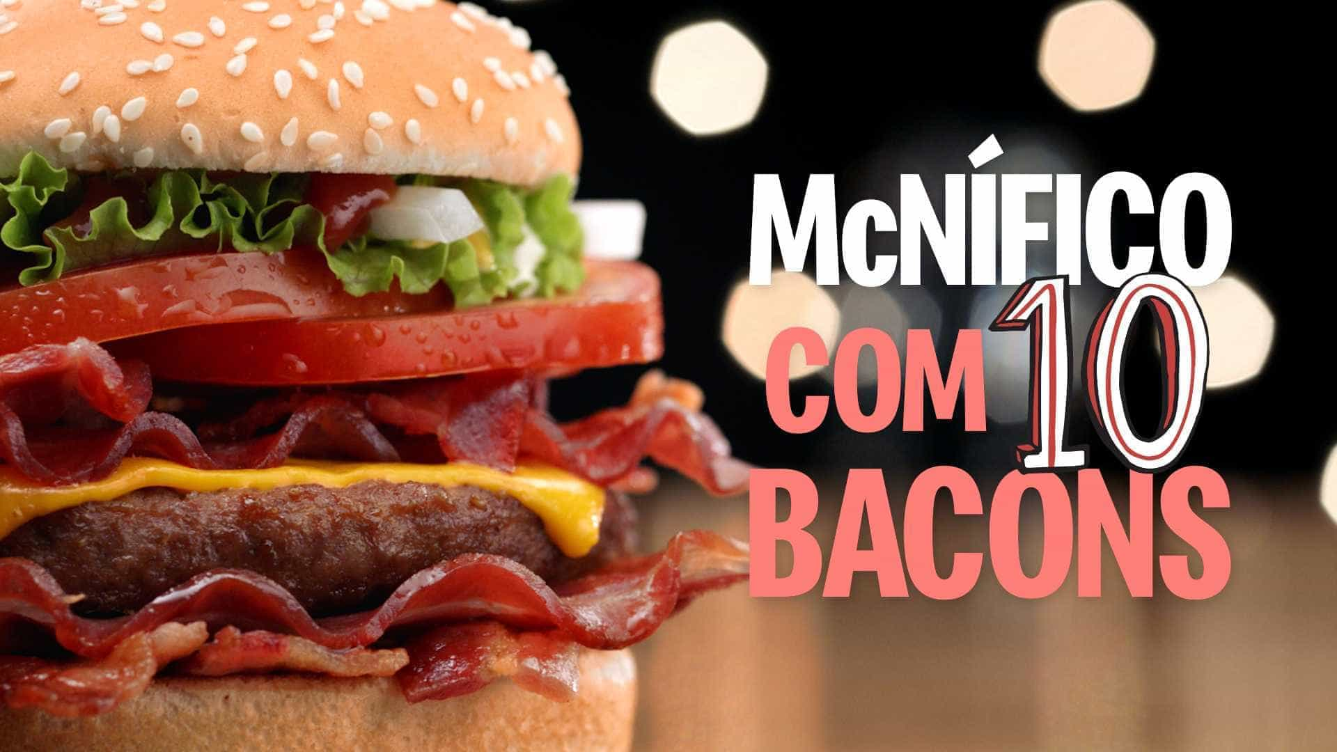Redes de fast-food travam guerra do mega-hambúrguer