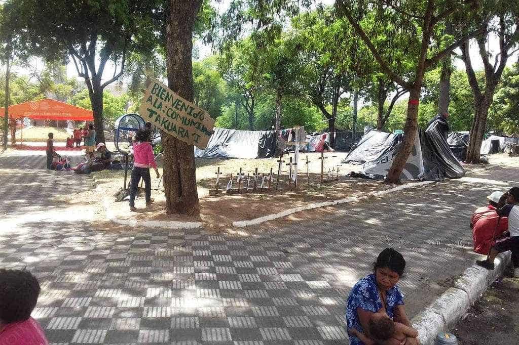 Indígenas paraguaios acusam brasileiro de expulsá-los de terra