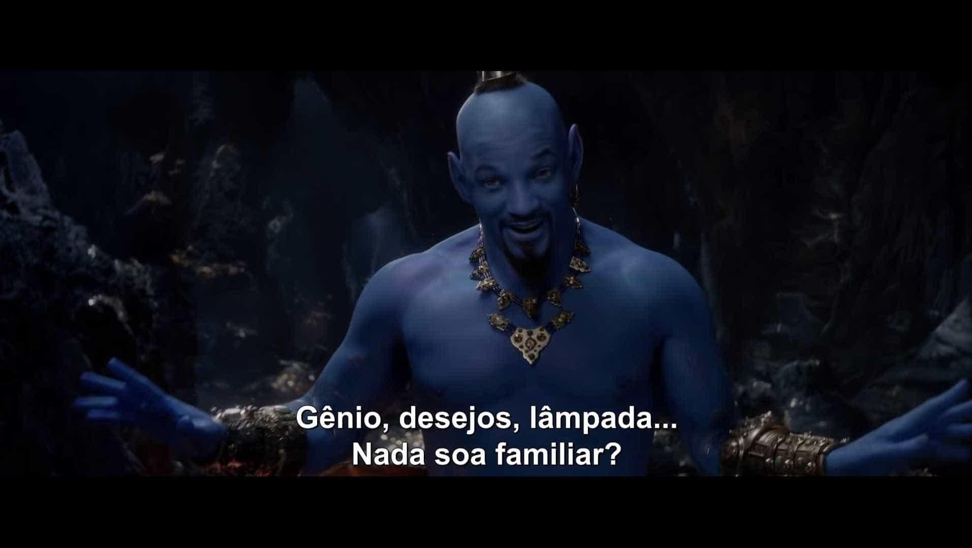 Disney lança teaser do live action de Aladdin com o 'gênio' Will Smith