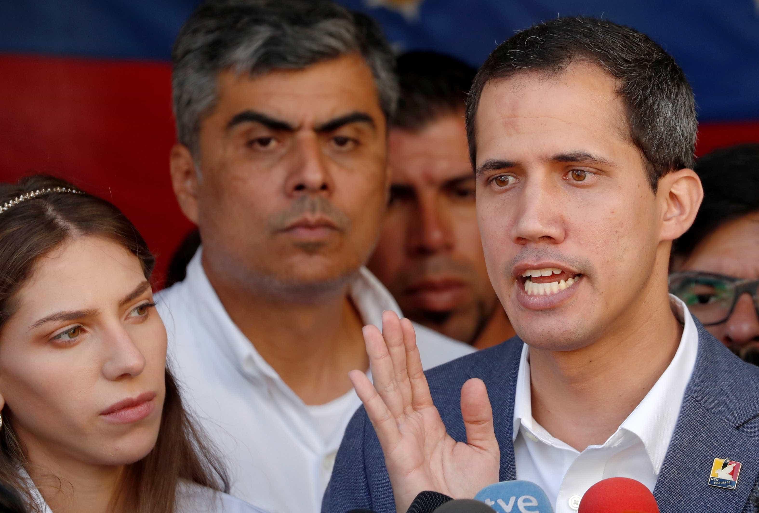 Delegação de Juan Guaidó é recebida no Vaticano
