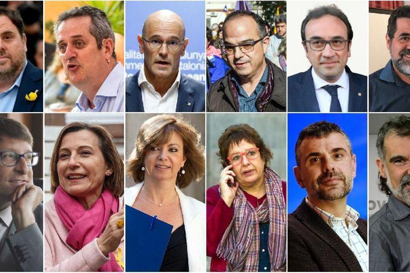 Começa julgamento de separatistas na Espanha; veja quem é quem