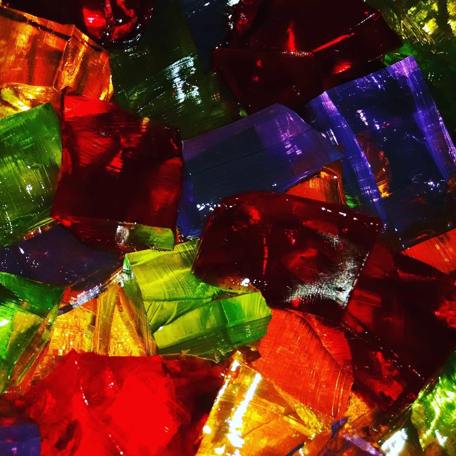 Aprenda a fazer uma leve e refrescante Gelatina Colorida de Frutas