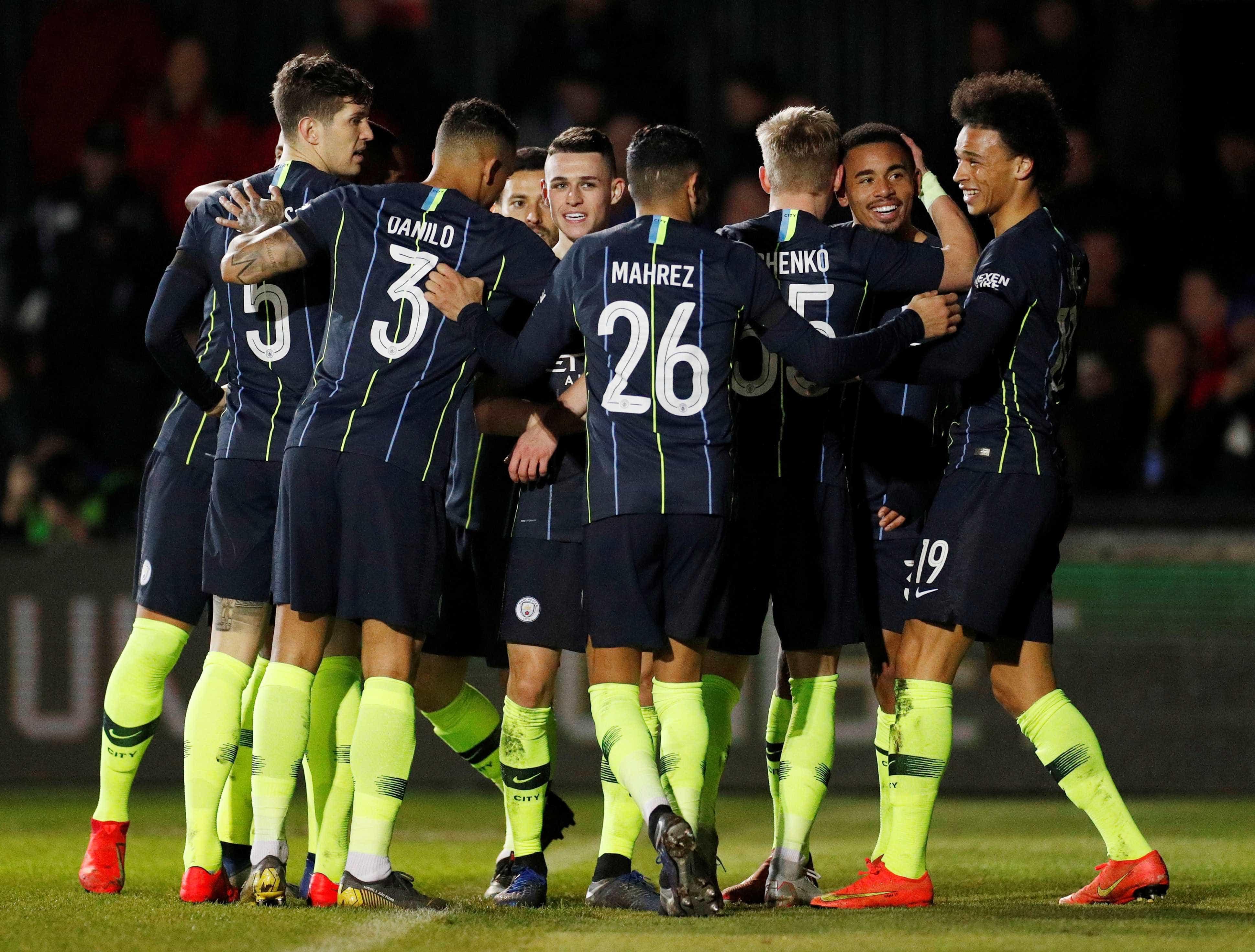 Newport luta, mas City vence e vai às quartas da Copa da Inglaterra