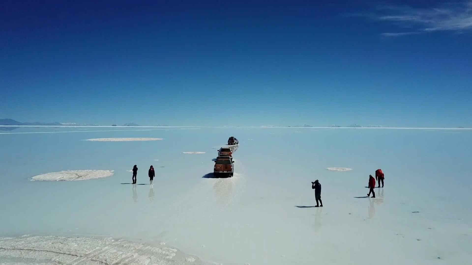 Veja imagens incríveis do maior deserto de sal do mundo: Salar de Uyuni