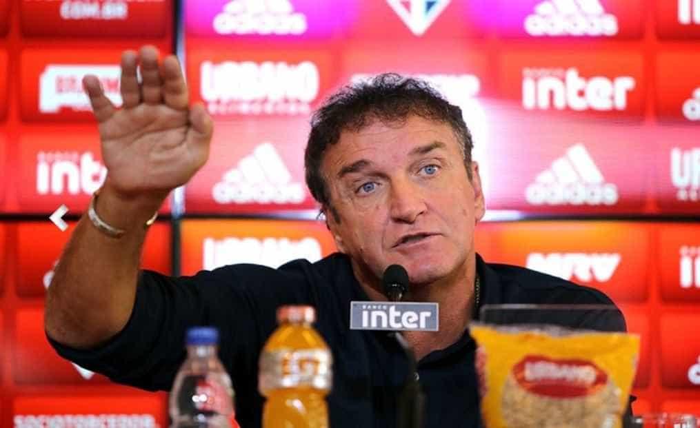 Cuca diz que pretende antecipar início do trabalho no São Paulo