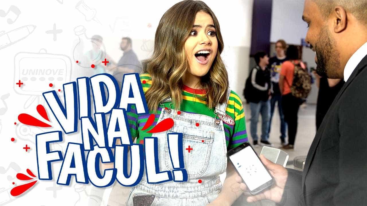 Maisa Silva é estrela de nova websérie do SBT sobre vida universitária