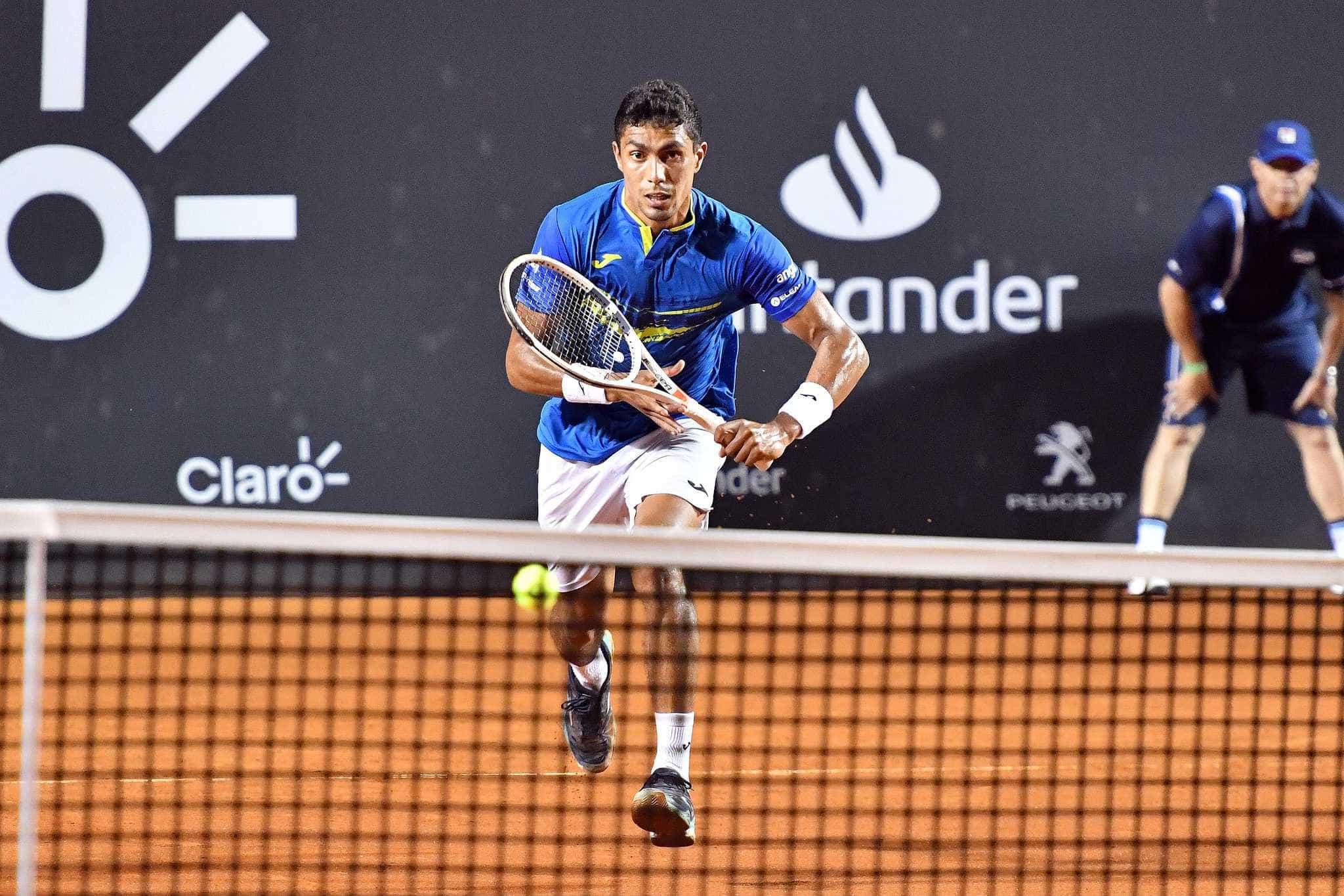 Thiago Monteiro supera português e avança na estreia no Rio Open