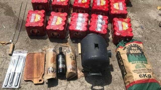 Policial é presa tentando promover churrasco em prisão onde está Pezão