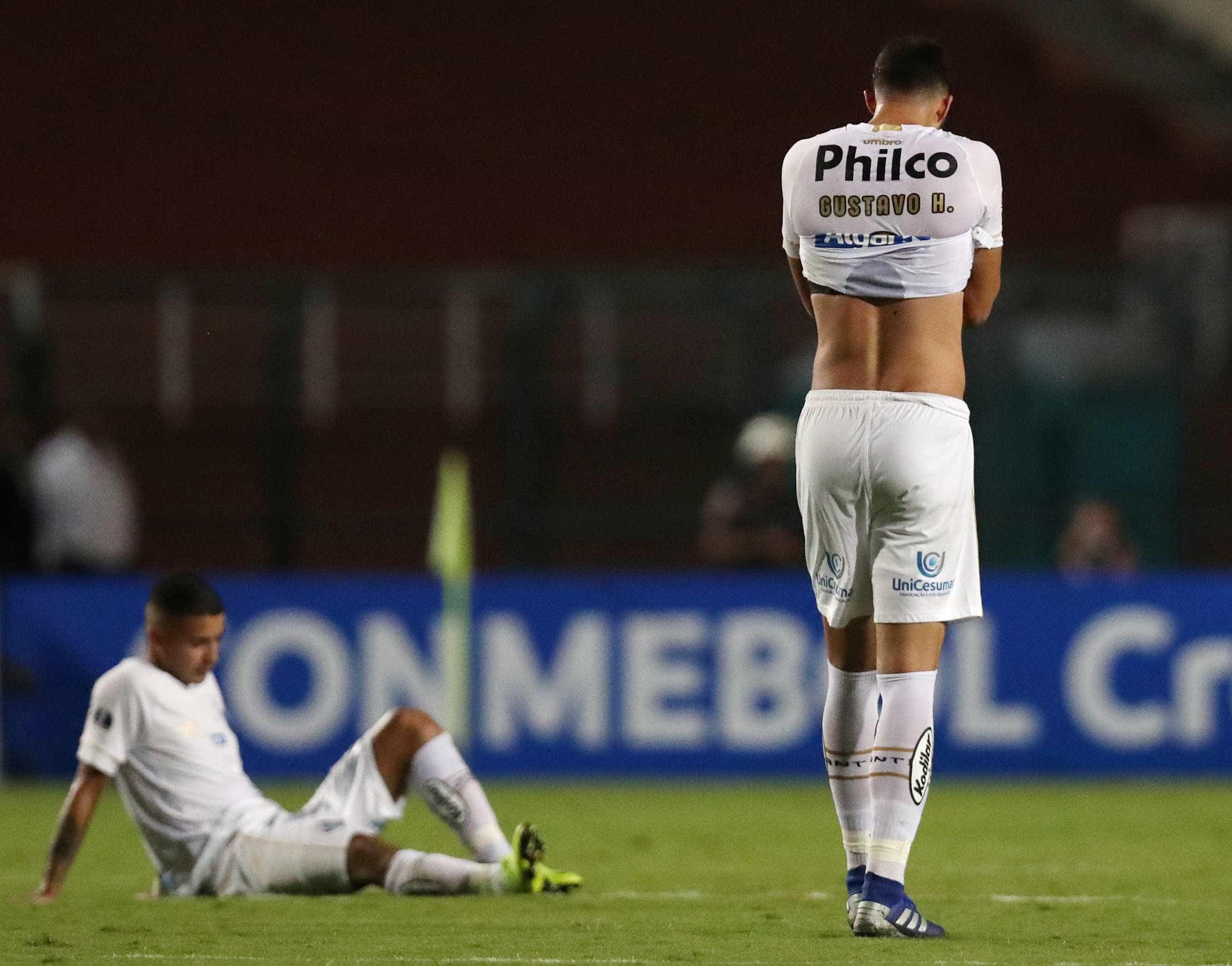 Santos é eliminado pelo River Plate-URU na 1ª fase da Sul-Americana