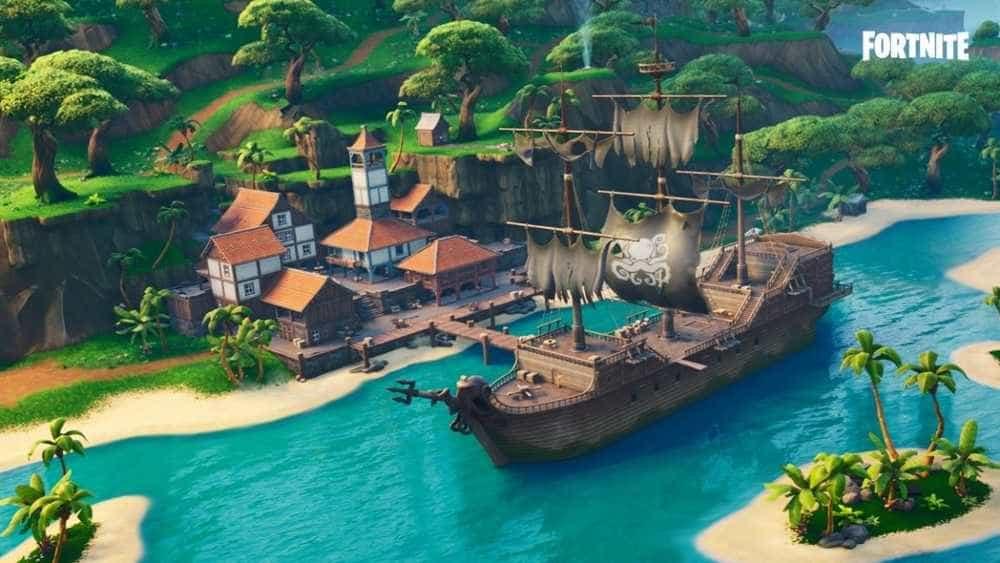 Temporada 8 do Battle Royale chega ao Fortnite com tema de pirata