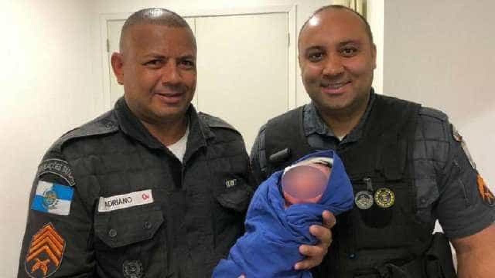 Recém-nascido é encontrado dentro de lixeira no RJ