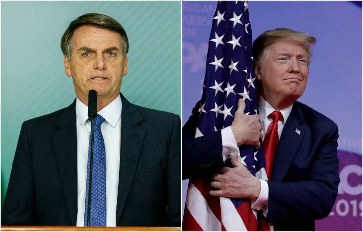 Bolsonaro viaja hoje para se encontrar com Trump nos EUA